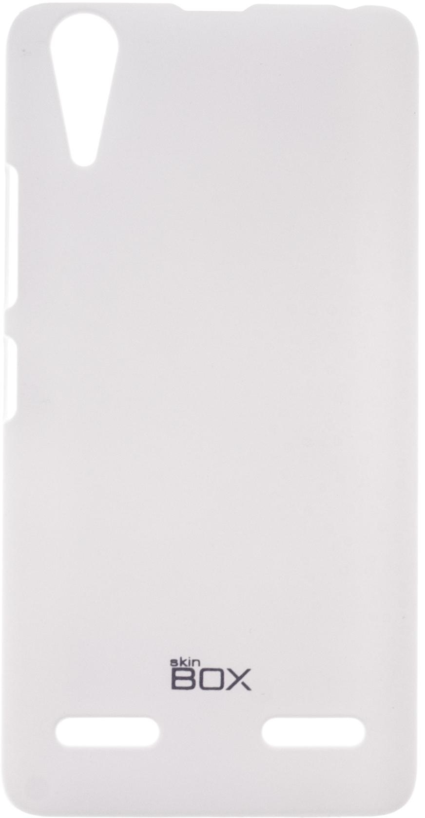 Накладка SkinBox для Lenovo A6000/6010 P-S-LA6000-002 Белый