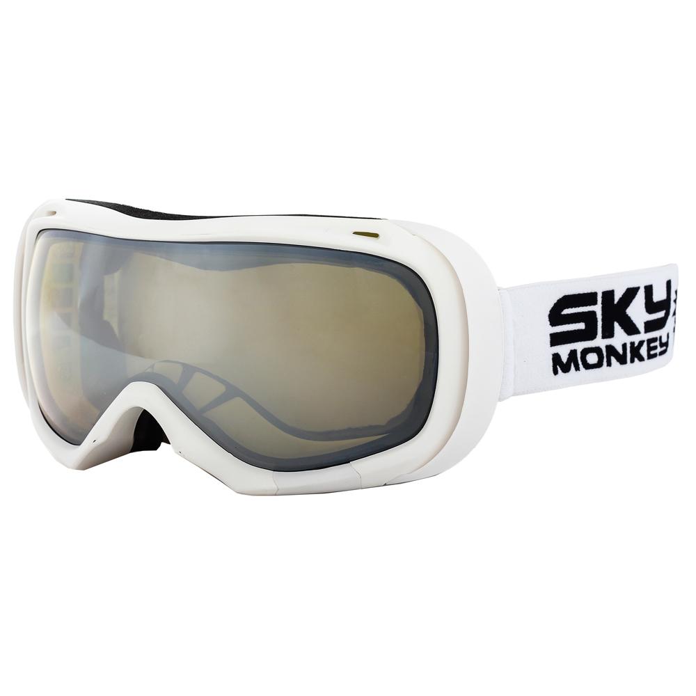 Очки горнолыжные Sky Monkey SR23 YLM (AG0172) белый матовый N/S
