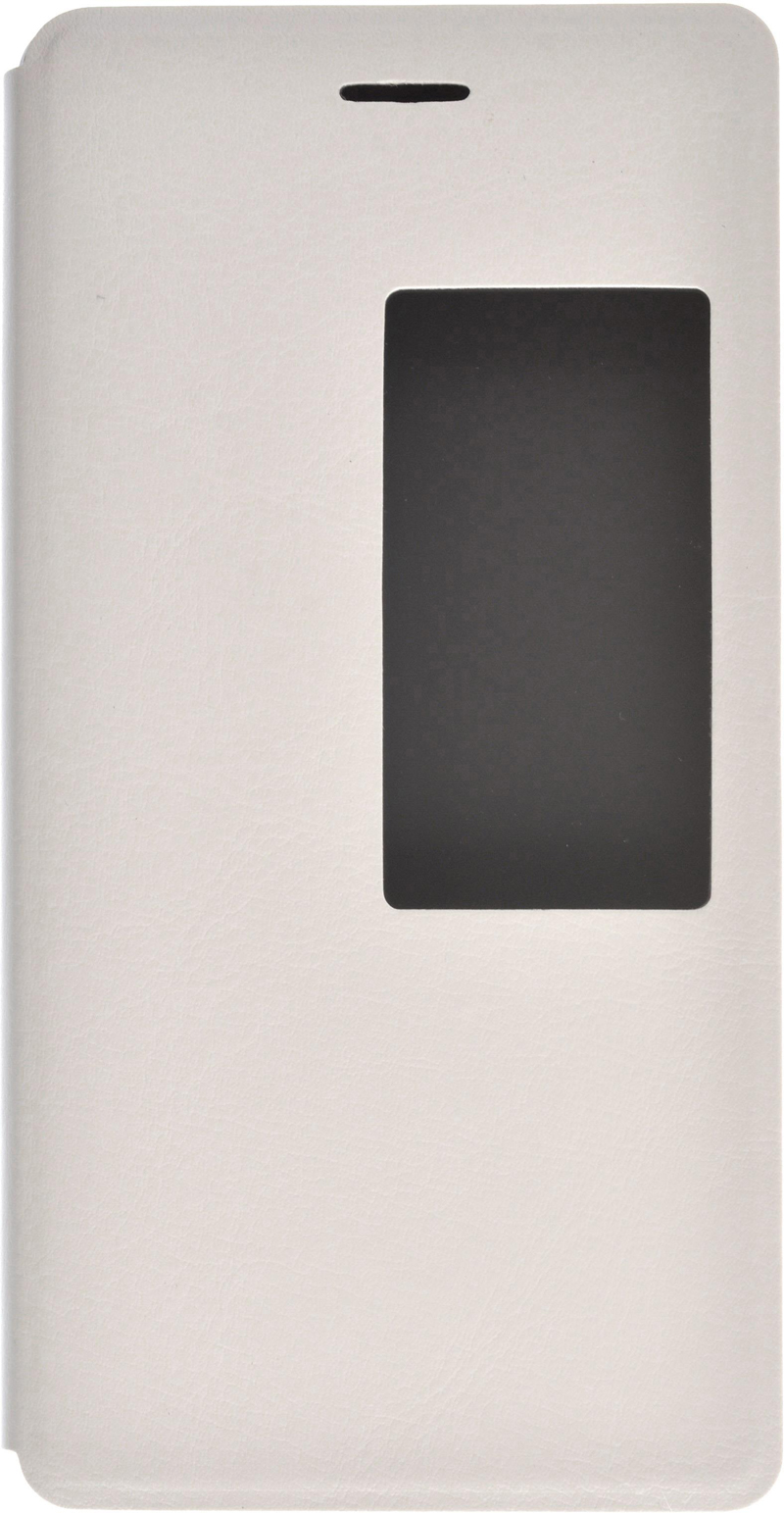 skinBOX Lux AW для Huawei P8 T-S-HP8-004 White - (Huawei P8; поликарбонат и экокожа)