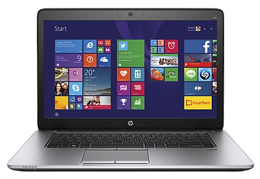 HP EliteBook 850 G2 (L1D04AW) - (Intel Core i5 5300U 2300 МГц. Экран 15.6 дюймов, 1366x768, широкоформатный. ОЗУ 4 Гб DDR3L 1600 МГц. Накопители SSHD 532 Гб; DVD нет. GPU Intel HD Graphics 5500. ОС)