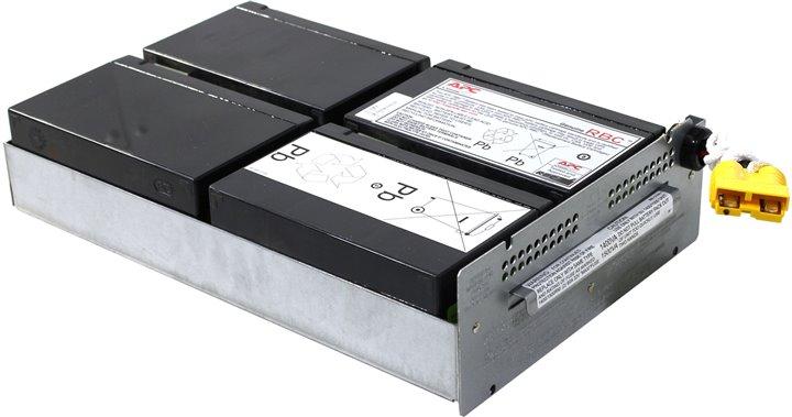 APC RBC24 - (12 В; 432 ВАч • необслуживаемый свинцово-кислотный аккумулятор для ИБП)