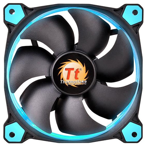 Вентилятор корпусной Thermaltake Riing 14 LED Blue CL-F039-PL14BU-A