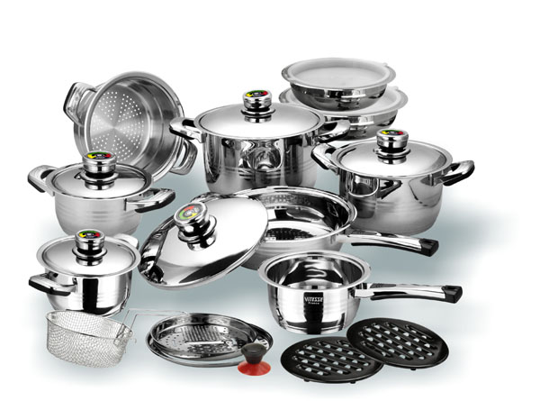 Набор посуды VITESSE VS-1003 (23 предмета)