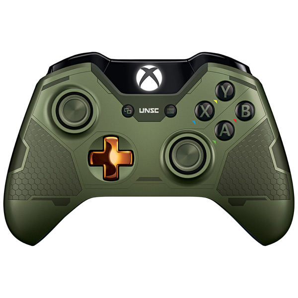 ������� Microsoft Xbox One Wireless Controller, Halo 5 Guardians. Master Chief GK4-00013