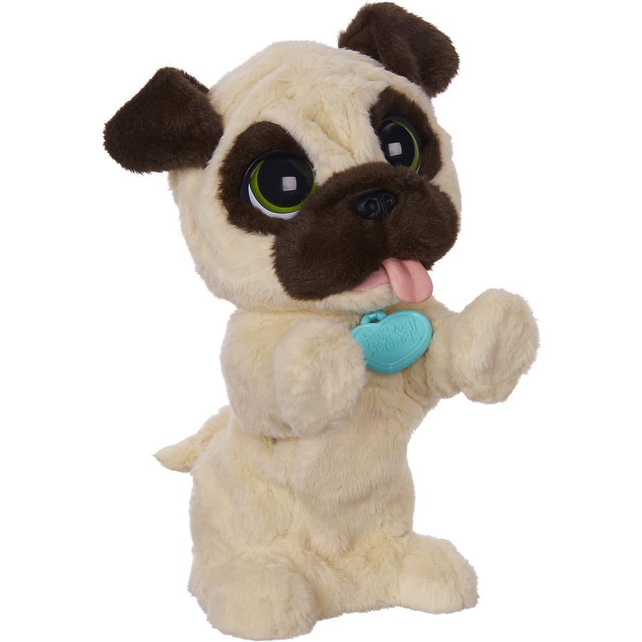 Мягкая игрушка Hasbro furreal friends frf, Игривый щенок, beige / brown B0449