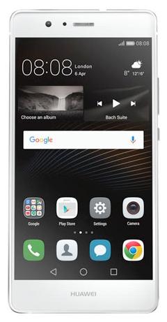 Huawei P9 Lite, White - (; GSM 900/1800/1900, 3G, 4G LTE; SIM-карт 2 (nano SIM); HiSilicon Kirin 650; RAM 2 Гб; ROM 16 Гб; 3000 мАч; 13 млн пикс., светодиодная вспышка; есть, 8 млн пикс.; датчики - освещенности, приближения, гироскоп, компас, считывание отпечатка пальца)