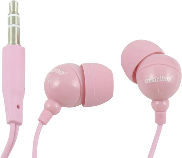 Наушники SmartBuy Color Trend SBE-3100 pink