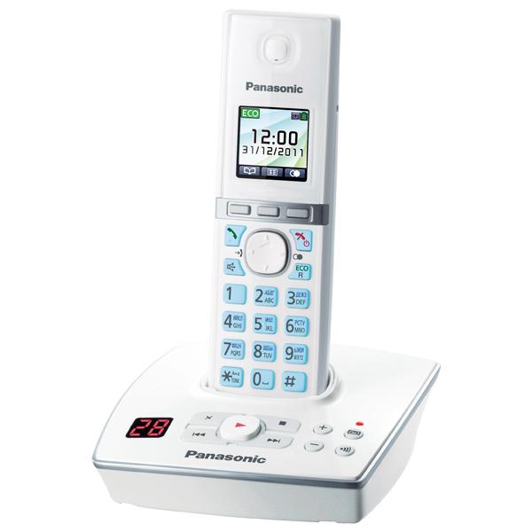 Радиотелефон Panasonic KX-TG8061RUW White