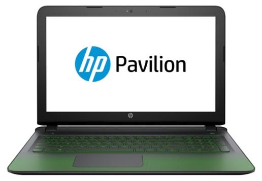 HP PAVILION Gaming 15-ak001ur (P0U51EA), Black - (Core i7 6700HQ 2600 МГц. Экран 15.6 дюймов, 1366x768, широкоформатный. ОЗУ 8 Гб DDR3L. Накопители HDD 2000 Гб; DVD-RW, внутренний. GPU NVIDIA GeForce GTX 950M. ОС)