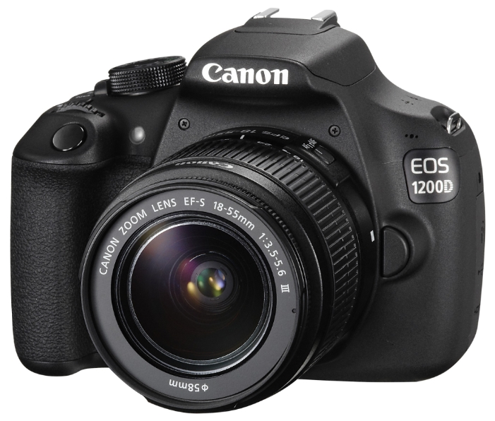Canon EOS 1200D 18-55IS Kit + Bag - (18.7 млн, 1920x1080, 3 кадр./сек, 460000 точек, 3 дюйма)