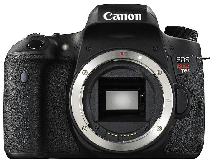 Canon EOS 760D Body, black - (24.7 млн, 1920x1080, 5 кадр./сек, ЖК-экран: поворотный, сенсорный, 1040000 точек, 3 дюйма)