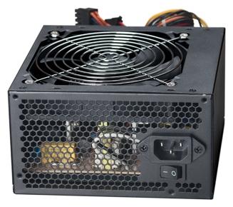 ExeGate ATX-450NPXE 450W - 450 Вт, 1 вентилятор (120 мм), PFC нет, линия +12В(1) - 17 A, линия +12В(2) - 16 A • Molex: 2 / SATA: 3