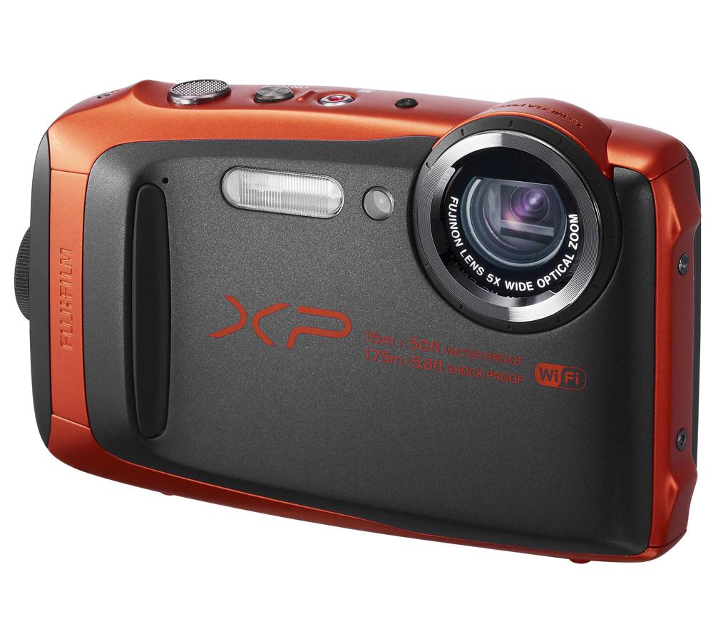 Цифровая фотокамера Fujifilm FinePix XP90, orange 16500313