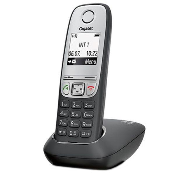 Дополнительная трубка для VoIP-телефона Gigaset A415H black