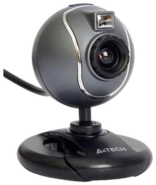 A4Tech PK-750G - 640x480; 0.3 млн пикс., CMOS; микрофон встроенный; USB 2.0; поворот 360 град.