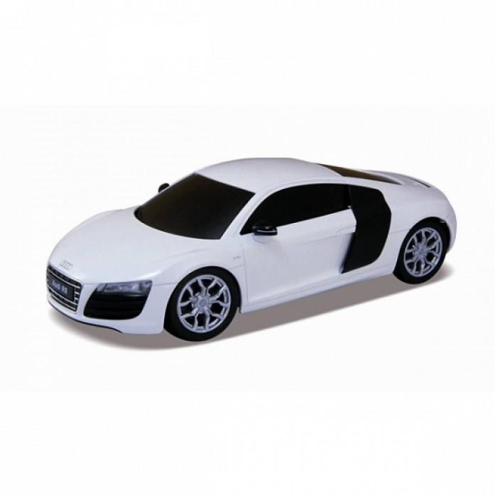 Радиоуправляемая игрушка Welly Audi R8 V10, white