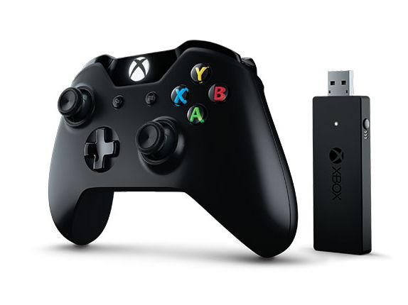 ������� Microsoft Xbox One Controller + Wireless Adapter for Windows 10 black NG6-00003