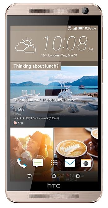 HTC One E9+ dual sim Delicate Rose - (Android 5.0; GSM 900/1800/1900, 3G, 4G LTE, LTE-A Cat. 4; SIM-карт 2 (nano SIM); 2000 МГц; RAM 3 Гб; ROM 32 Гб; 2800 мАч; 20 млн пикс., светодиодная вспышка; есть, 13 млн пикс.; датчики - освещенности, приближения, гироскоп, компас)