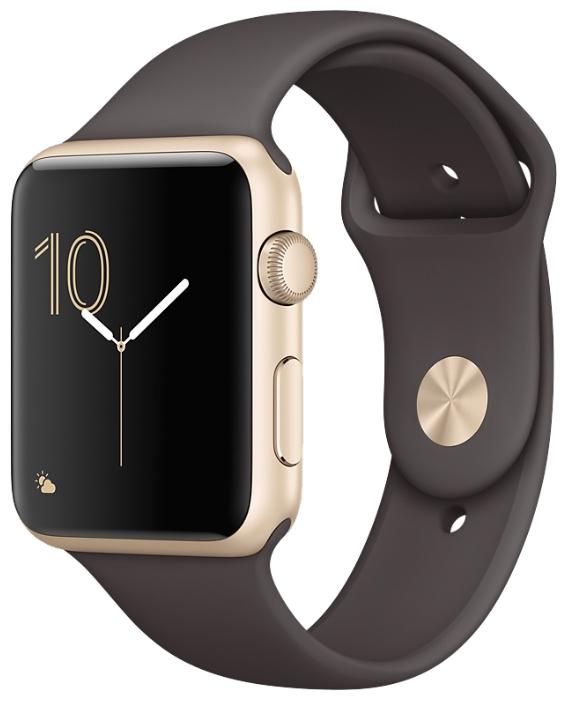 Смарт-часы Apple Watch Series 1 42mm Gold Al/CocoaSport MNNN2RU/A