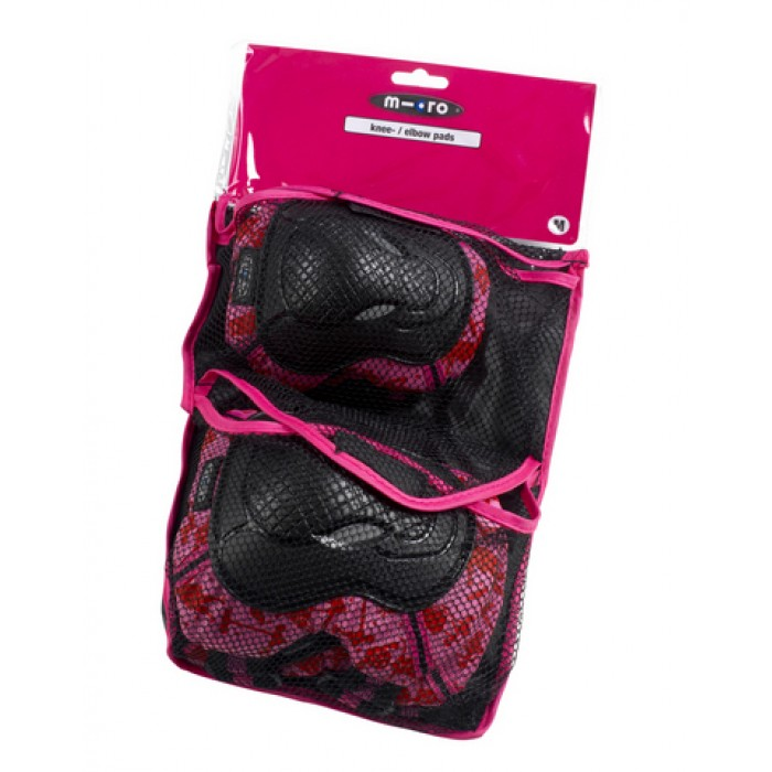Micro Knee and Elbow Pads XS Pink