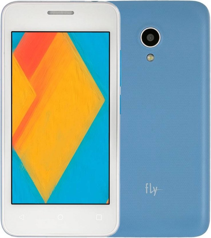 Смартфон Fly FS407 Stratus 6 512Mb/4Gb 3G, blue