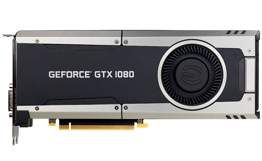 EVGA GeForce GTX 1080 GAMING (8Gb GDDR5, DVI-D + HDMI + 3xDP) - (NVIDIA GeForce GTX 1080, 16 нм, 1607 МГц, 8192 Мб GDDR5X@10000 МГц 256 бит, TDP 180 Вт • Разъёмы: DVI-D, поддержка HDCP, HDMI, DisplayPort x3.)