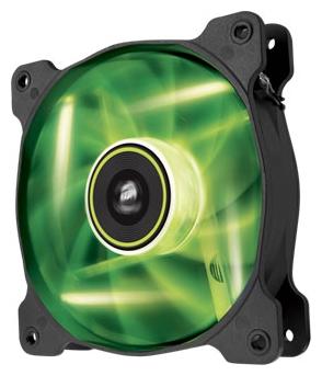 Вентилятор корпусной Corsair CO-9050032-WW SP120 LED Green 120mm Fan, (2шт)