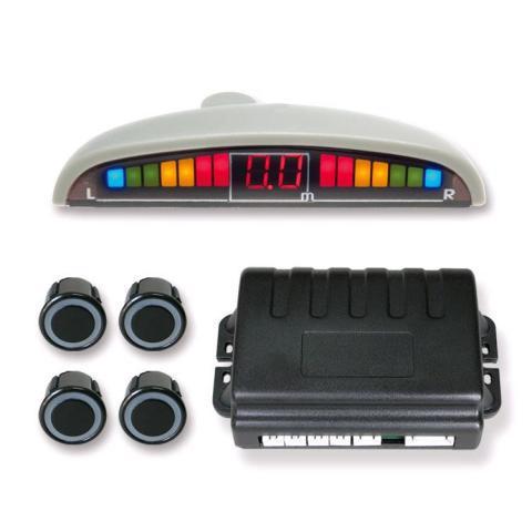 SPIDER PS-06 Black - (Экран светодиодный, сегментный; точность 10 см; 4 датчика • Расстояние: 1.5 м … 0.3 м)