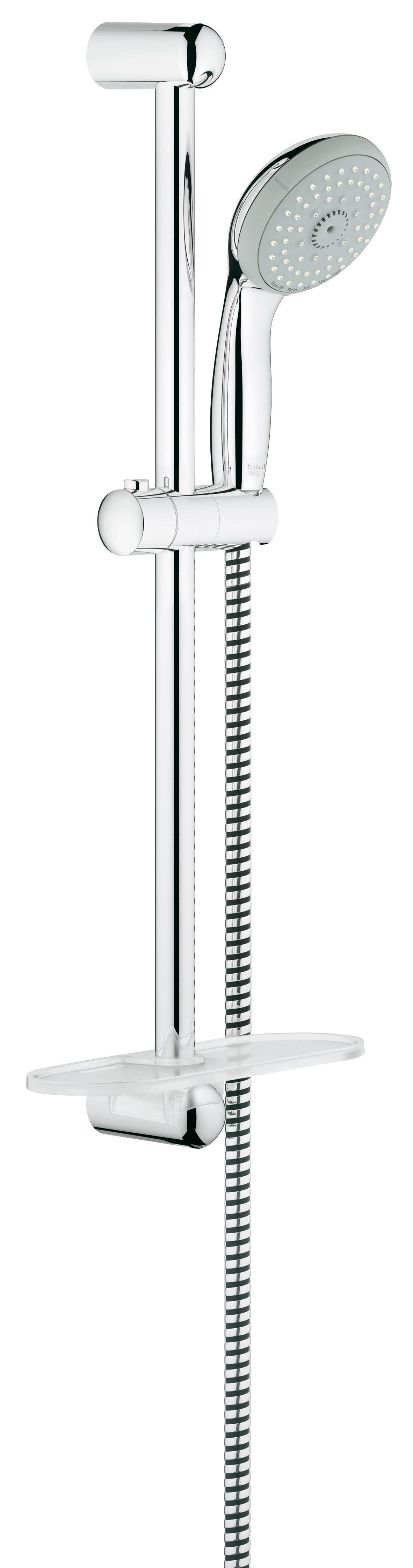 Grohe 28593001 Tempesta Classic (ручной душ, штанга 600 мм, шланг 1750 мм), хром