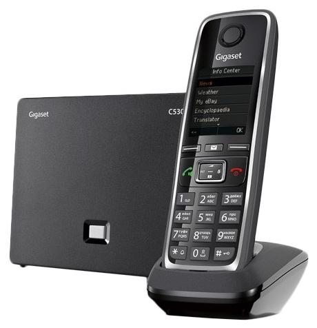 VoIP-телефон Gigaset C530A IP black S30852-H2526-S301