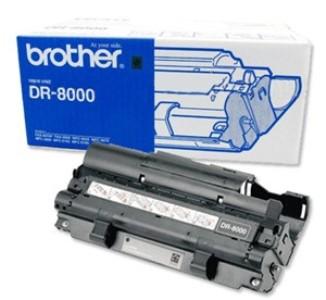 Brother DR-8000 Black - Чёрный; печать лазерная; на 8000 страниц • Brother MFC-9030/9070/4800/9160, 9180; FAX-8070P. DR8000