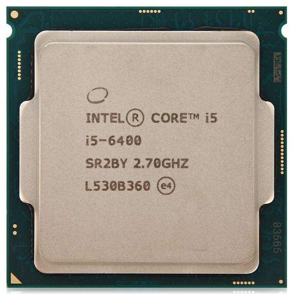 Intel Core i5-6400 Skylake (2700MHz, LGA1151, L3 6144Kb), OEM - LGA1151; Skylake (2015); ядер 4; 14 нм; 2700 МГц; L1 64 Кб; L2 1024