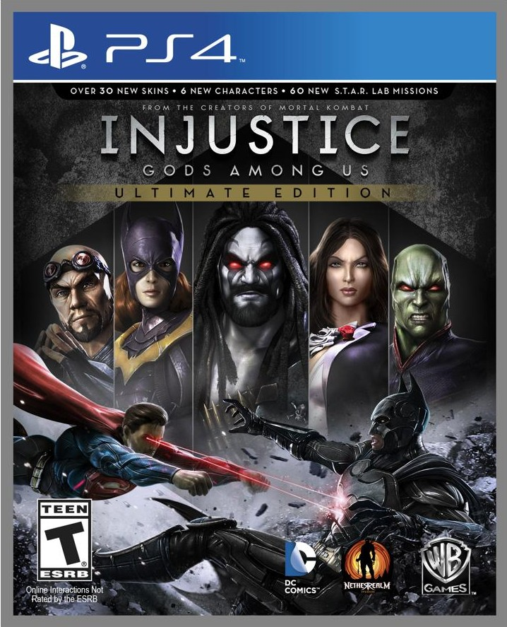 ���� Injustice: Gods Among Us Ultimate Edition