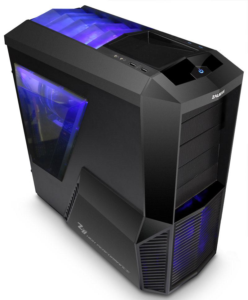 Корпус для компьютера Zalman Z11 Plus Black