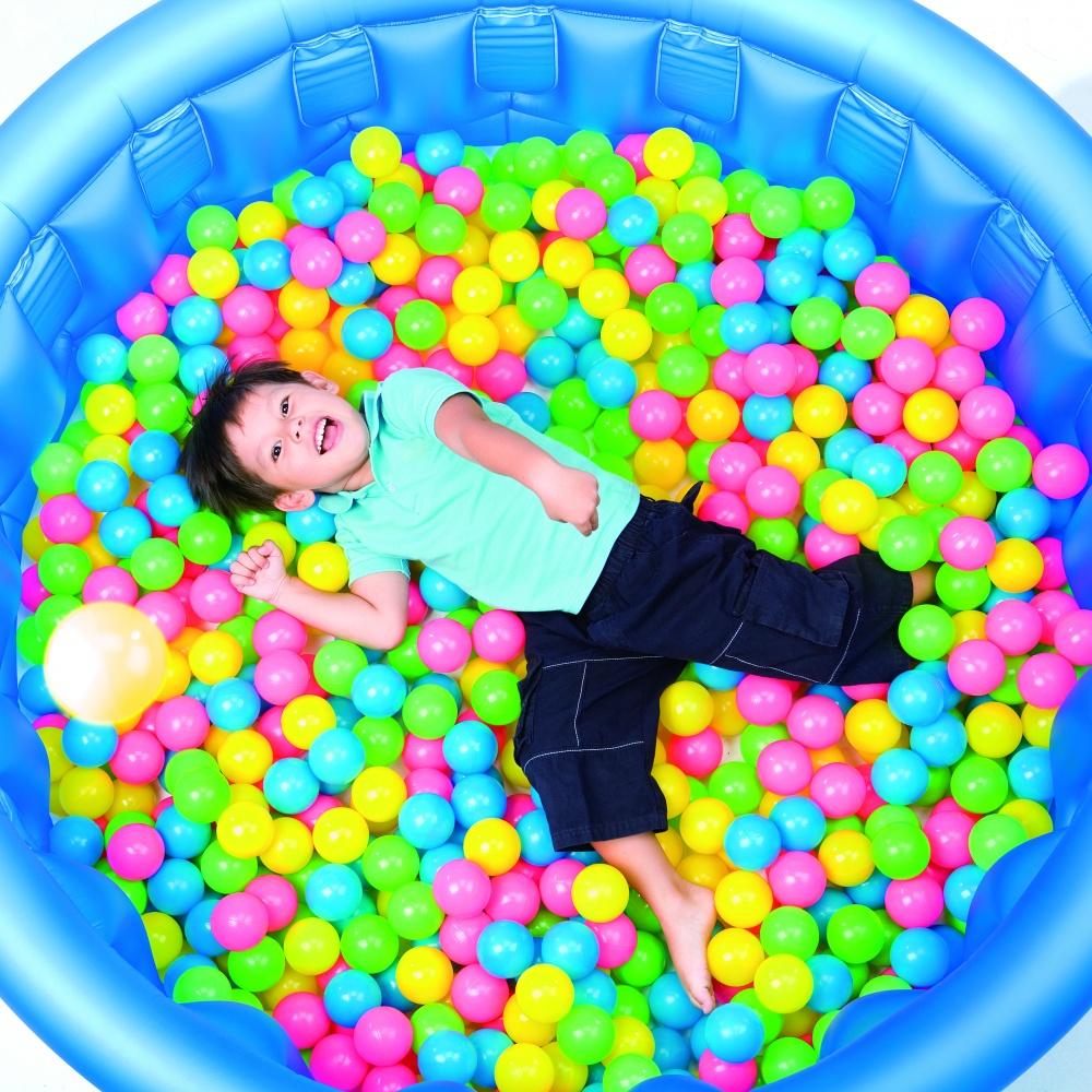 Мяч гум Bestway (1+) 52027 6,5 см (100шт)