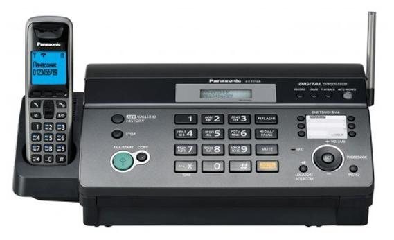 Факс Panasonic KX-FC968RU, рулон, A4 KX-FC968RUT
