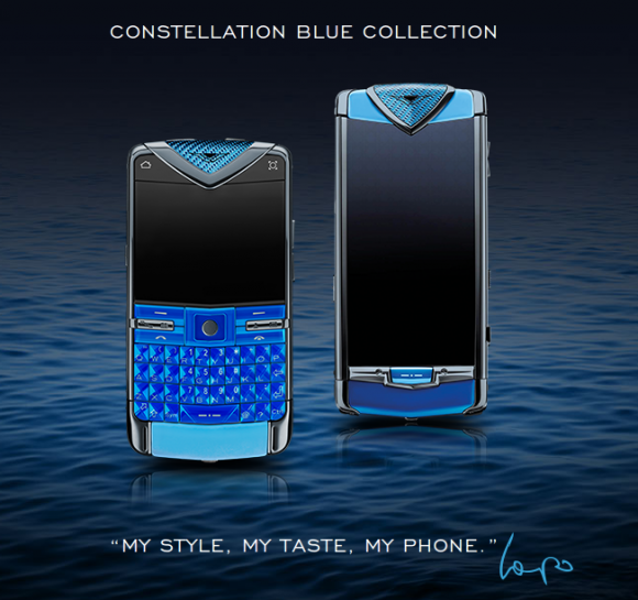 Смартфоны Constellation Blue и Quest Blue.