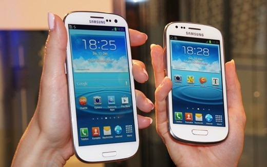 Samsung Galaxy S III Mini.