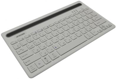 Фото товара Клавиатура Jet.A JETACCESS Slim Line K3 BT, white интернет-магазина ТопКомпьютер