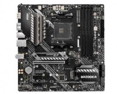 Материнская плата MSI MAG B550M BAZOOKA microATX (mATX), чипсет AMD B550 • • 4x DDR4 (до 128 Гб) — купить за 11590 руб.