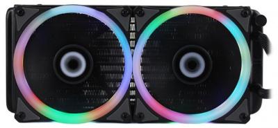Система охлаждения GameMax Iceberg 240 RGB для процессора • СЖО: да • Вентилятор(ы): 2 (120x120x25 мм) • 4-pin PWM — купить за 3475 руб.