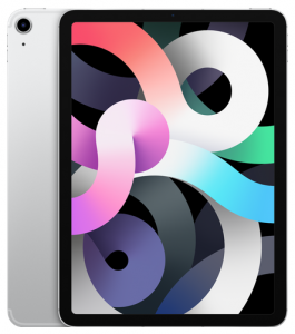 "Планшет Apple iPad Air 10.9"" (2020) Wi-Fi + Cellular 64GB - Silver (MYGX2RU/A)"