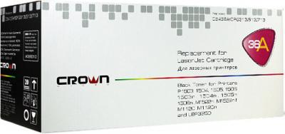 Картридж лазерный CROWN CM-CB436A, Black цвет - чёрный (black); ресурс 2000 страниц А4 при 5% заполнении • Совместимые устройства: HP P1503,1504, 1505, 1506, 1503N, 1504N, 1505N, 1506N, M1522N, M1522NF, M1120, M1120N; Canon LBP3250 — купить за 720 руб.