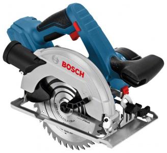 Пила дисковая аккумуляторная Bosch GKS 18V-57 3400 об / мин 18 В • Диск: 165 мм / 20 мм • пропил(90°) 57 мм • наклон 45 град — купить за 9785 руб.