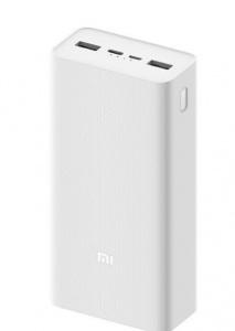 Аккумуляторная батарея Xiaomi Mi Power Bank 3 PB3018ZM 30000 mAh, white