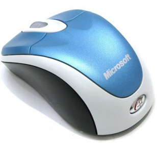 Фото Мышь Microsoft Wireless Notebook Optical Mouse 3000 Blue интернет-магазина ТопКомпьютер