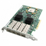 Фотография: Контроллер Lenovo 8Gb FC 4 Port Host Interface Card (00MJ095) - контроллер; снаружи 4x FC