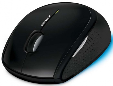 Фото Мышь Microsoft Wireless Optical Mouse 5000 Black USB интернет-магазина ТопКомпьютер