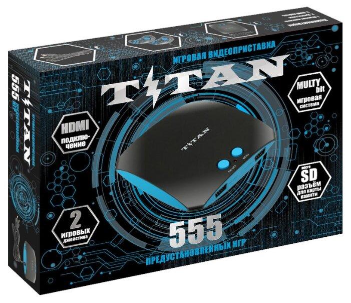 Игровая приставка SEGA Magistr Titan (555 встроенных игр) (SD до 32 ГБ) black