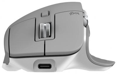 Мышь Logitech Wireless MX Master 3 Advanced MID GREY беспроводная (Bluetooth), USB • кнопок 7 • для правой руки (141 г ) — купить за 7595 руб.